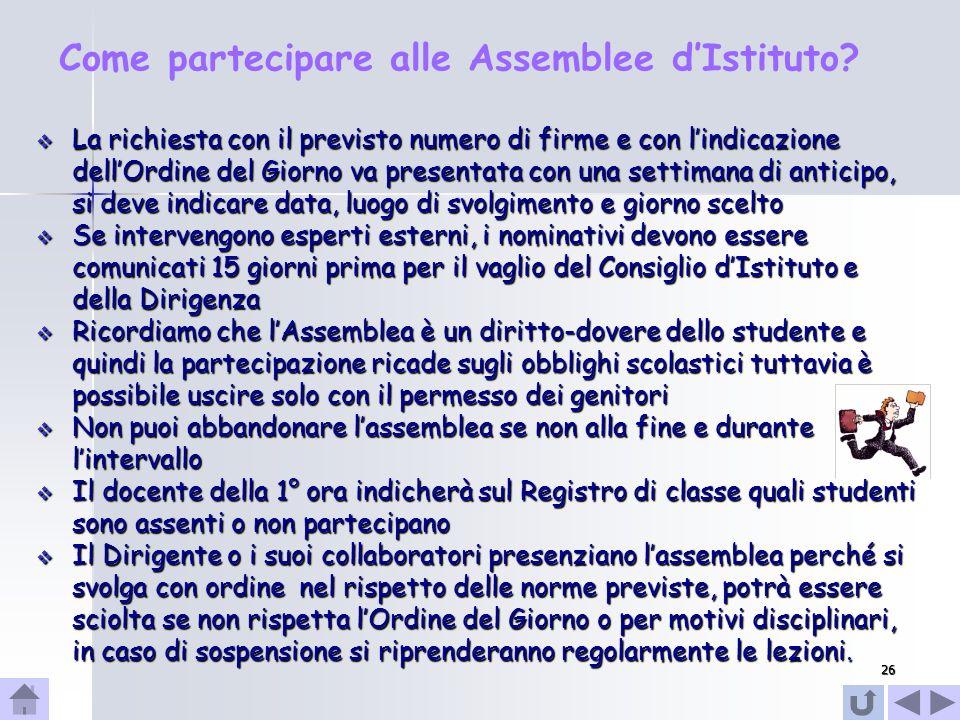 27 La Consulta Provinciale La Consulta Provinciale degli studenti è un organismo istituzionale di rappresentanza studentesca su base provinciale.
