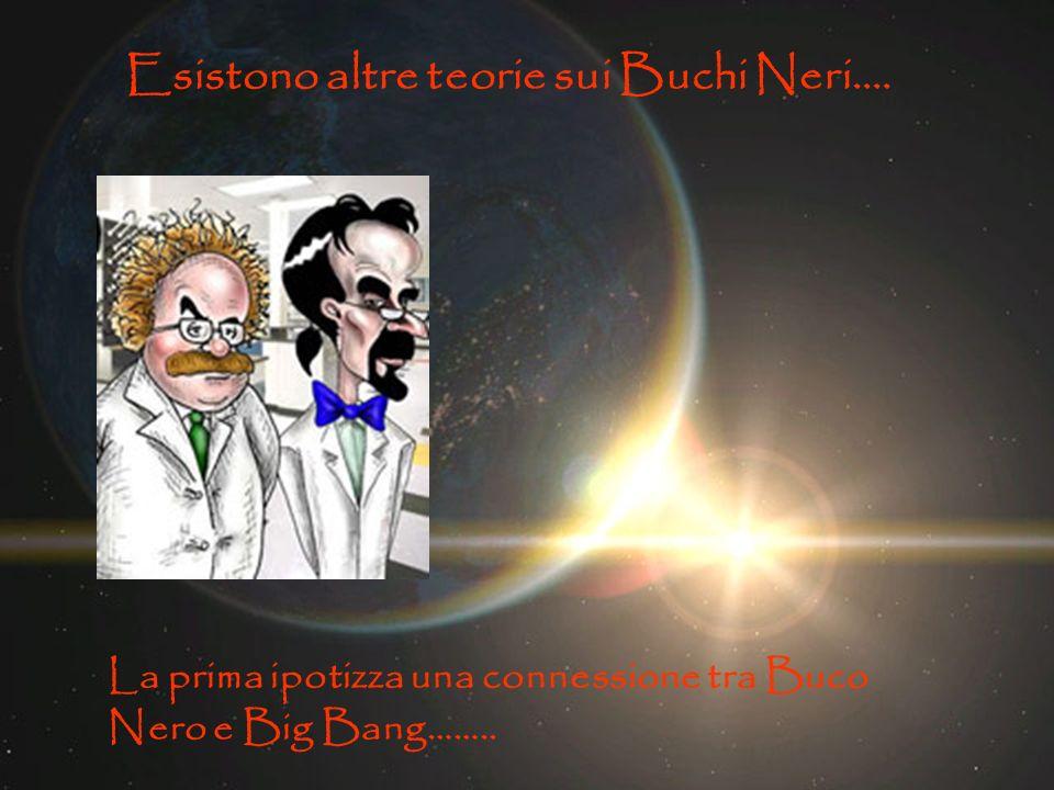 Esistono altre teorie sui Buchi Neri…. La prima ipotizza una connessione tra Buco Nero e Big Bang……..
