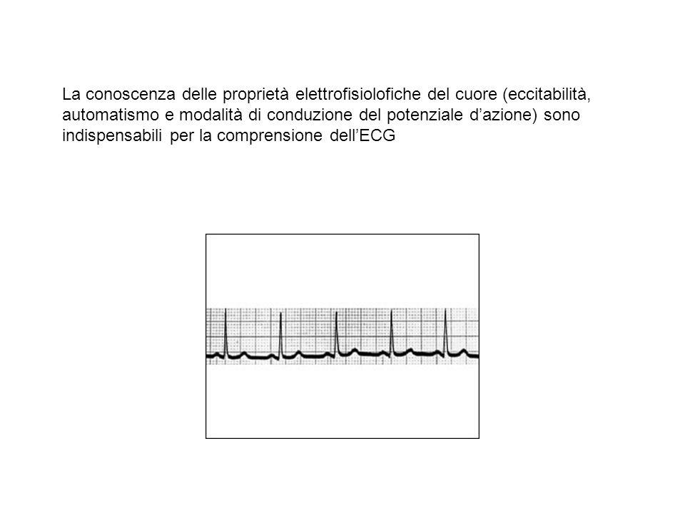 La conoscenza delle proprietà elettrofisiolofiche del cuore (eccitabilità, automatismo e modalità di conduzione del potenziale dazione) sono indispens