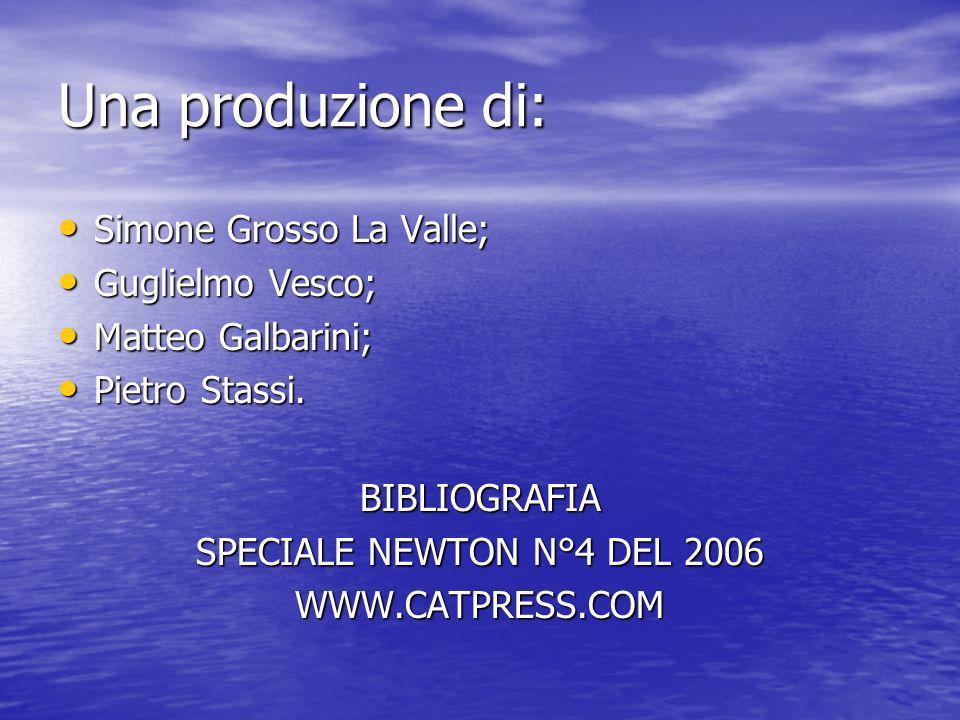 Una produzione di: Simone Grosso La Valle; Simone Grosso La Valle; Guglielmo Vesco; Guglielmo Vesco; Matteo Galbarini; Matteo Galbarini; Pietro Stassi