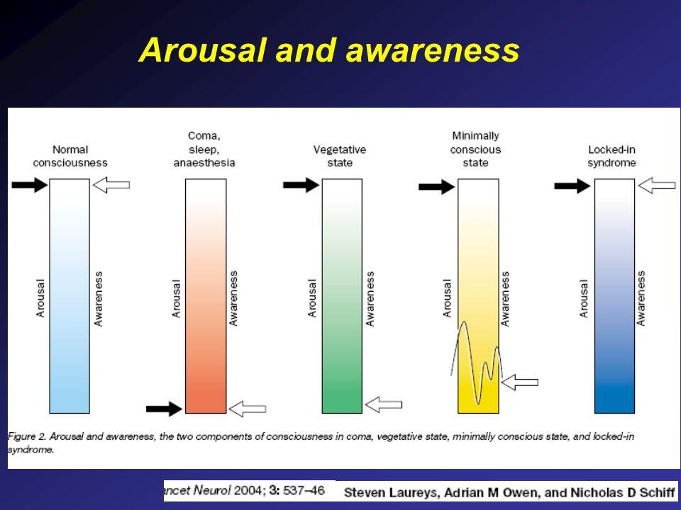 Arousal and awareness