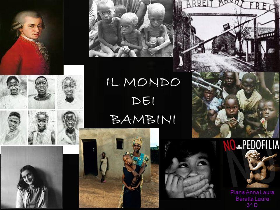 Piana Anna Laura Beretta Laura 3^ D IL MONDO DEI BAMBINI