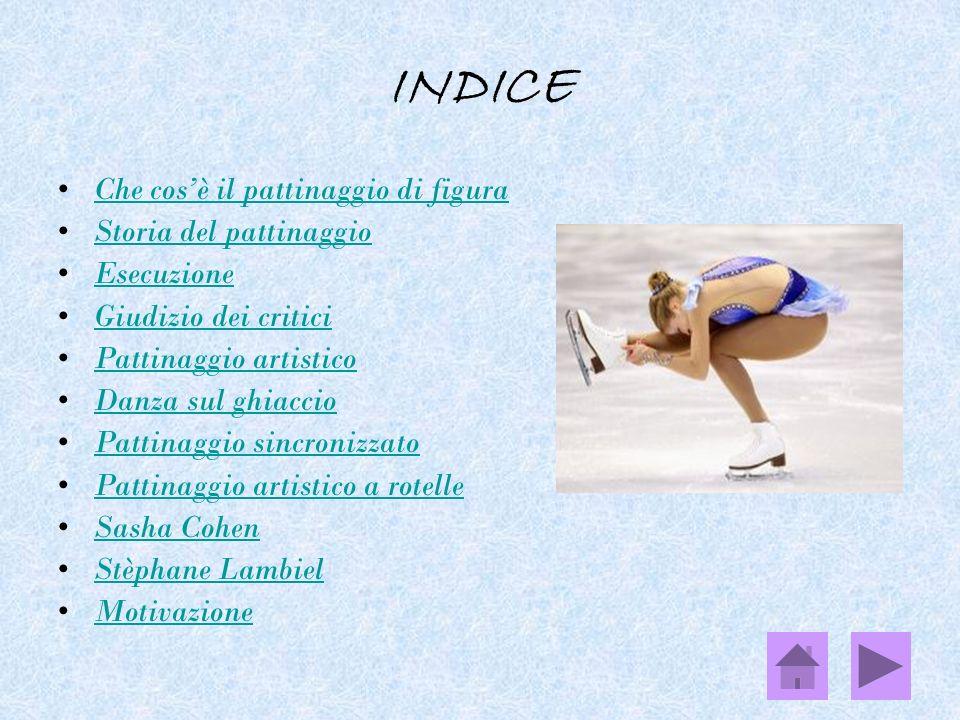 Che cosè il pattinaggio di figura l pattinaggio di figura è uno sport invernale individuale, di coppia e di squadra in cui gli atleti, dotati di pattini, eseguono sul ghiaccio degli esercizi composti da figure, passi, trottole e salti, su una base musicale.