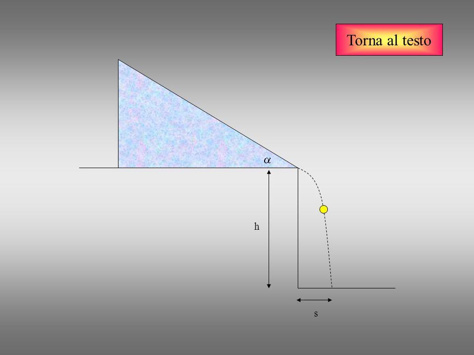 Torna al testo v vxvx vyvy g V x = costante V y = f(t)