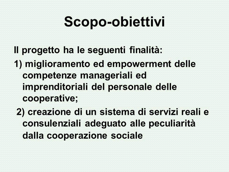 Gli obiettivi posti non sono in contrasto con la dimensione valoriale dellagire cooperativistico; il raggiungimento degli obiettivi etici e sociali non può, infatti, prescindere da una costante attenzione alla dimensione competitiva e reddituale.
