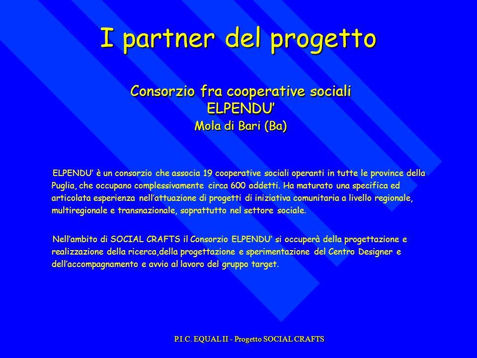 ELPENDU è un consorzio che associa 19 cooperative sociali operanti in tutte le province della Puglia, che occupano complessivamente circa 600 addetti.