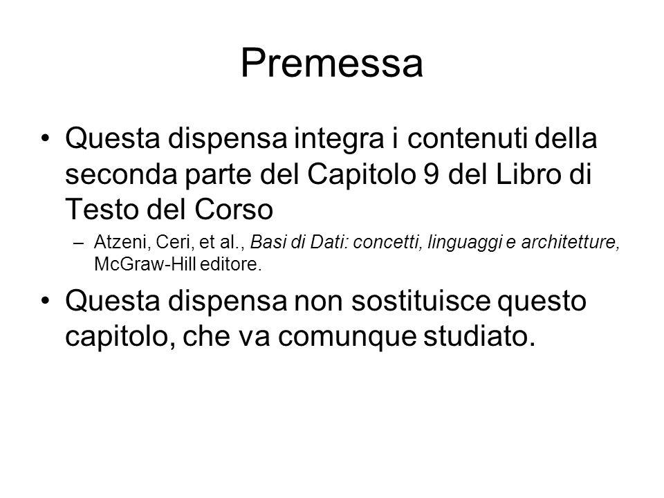 Database system Recovery Controllore dellAffidabilita S. Costantini