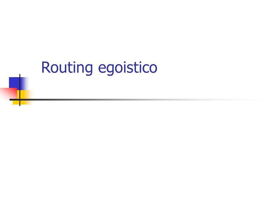 A causa della forte congestione sui tratti (s, v) e (w, t), tutti i conducenti impiegano 2 ore per andare da s a t .