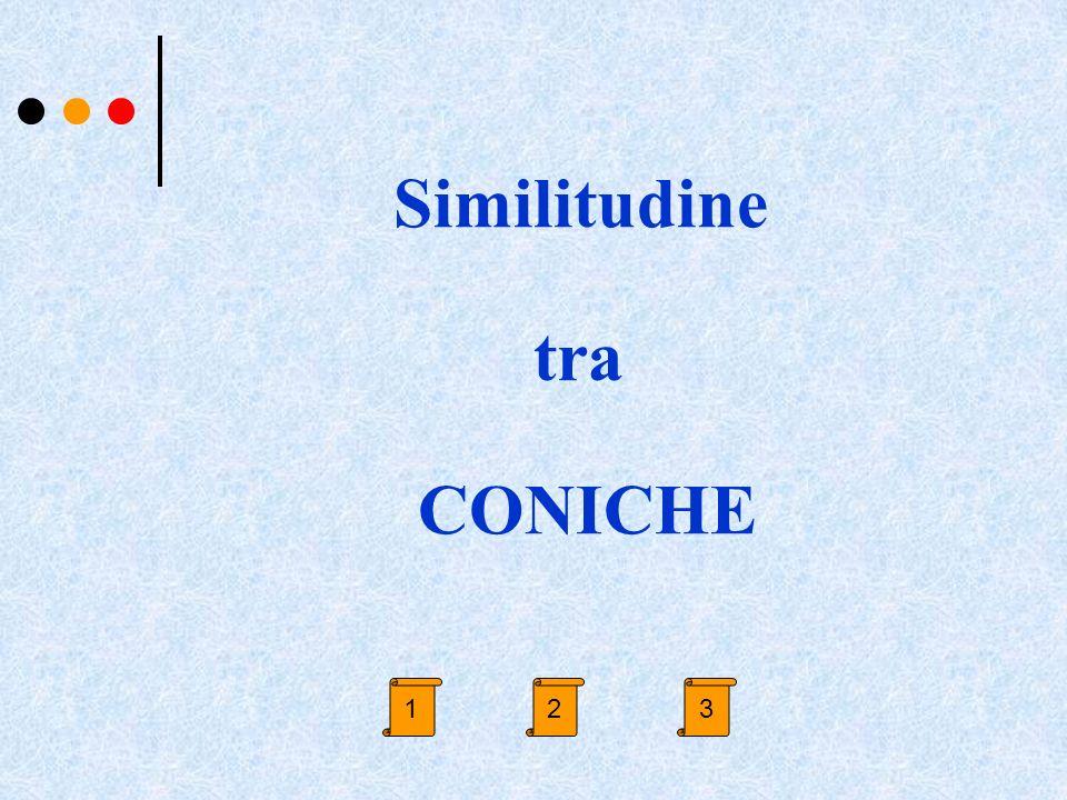 Similitudine tra CONICHE 231