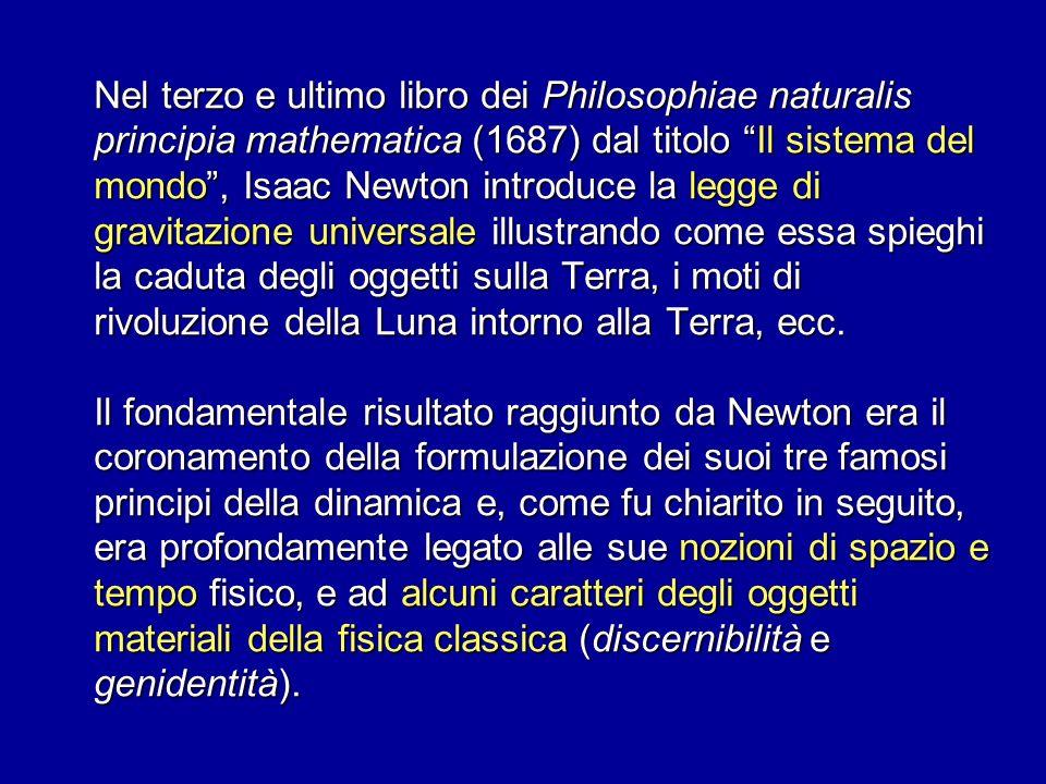 Nel terzo e ultimo libro dei Philosophiae naturalis principia mathematica (1687) dal titolo Il sistema del mondo, Isaac Newton introduce la legge di g