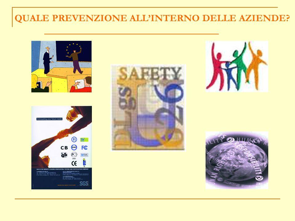 COME E NATA LIDEA DEL CONCORSO QUALITA FORMAZIONE Formare per prevenire Sett.