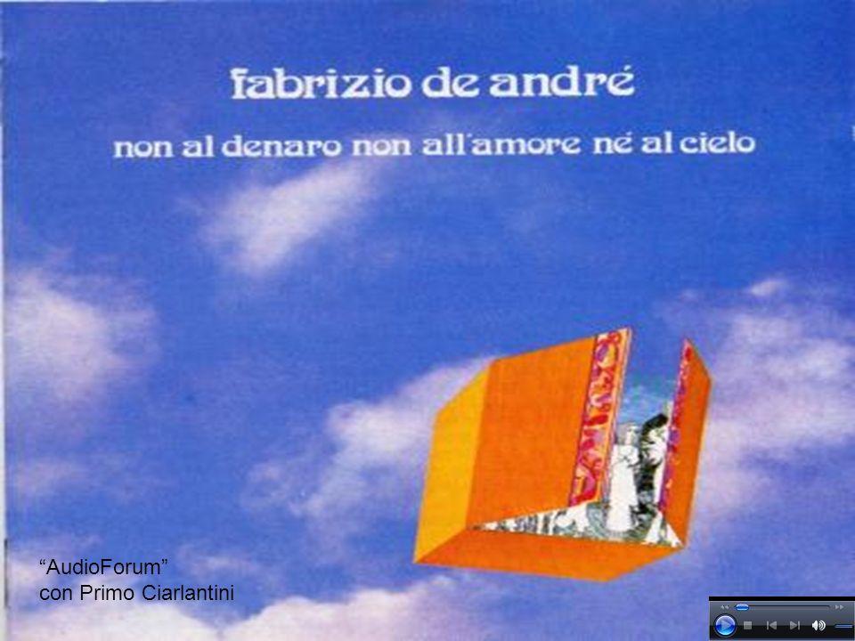 AudioForum con Primo Ciarlantini