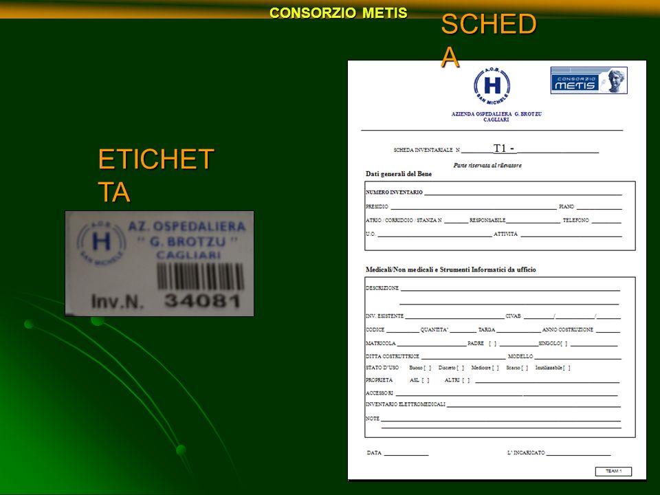 CONSORZIO METIS ETICHET TA SCHED A