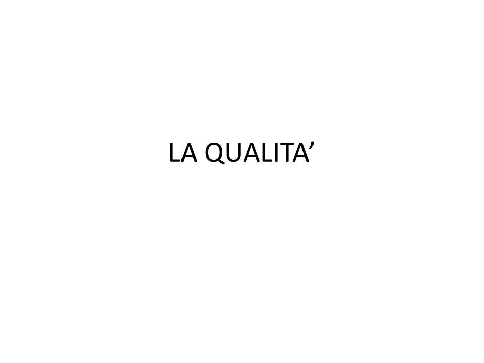LA QUALITA