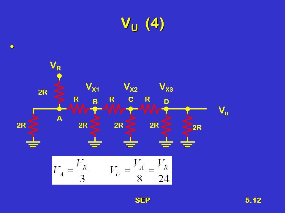 SEP5.12 V U (4) 2R RRR VRVR V X3 V X2 V X1 A B C D VuVu 2R