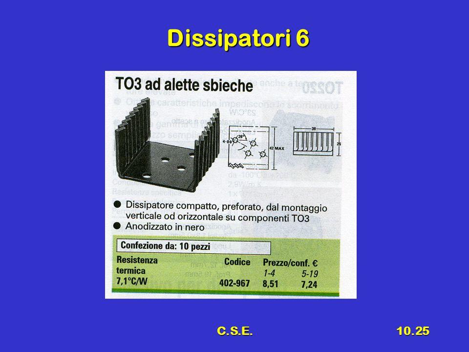 C.S.E.10.25 Dissipatori 6