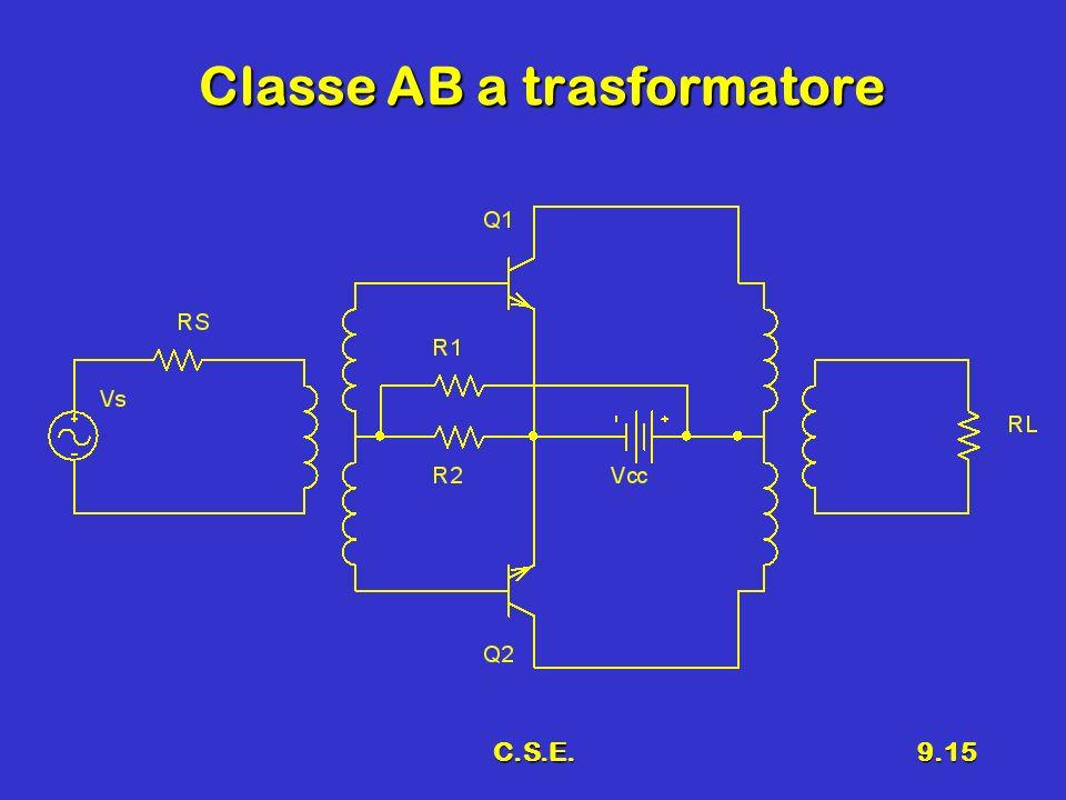 C.S.E.9.15 Classe AB a trasformatore