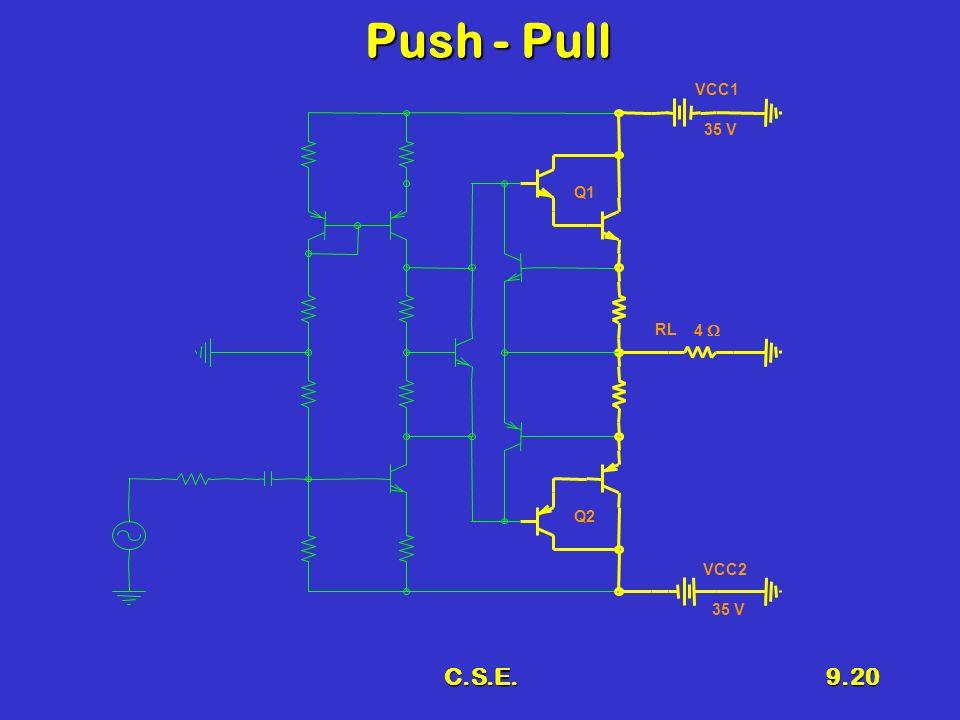 C.S.E.9.20 Push - Pull Q1 RL 4 VCC1 35 V VCC2 35 V Q2