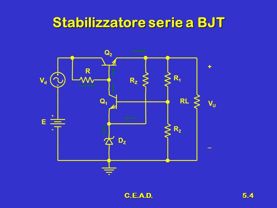 C.E.A.D.5.4 Stabilizzatore serie a BJT