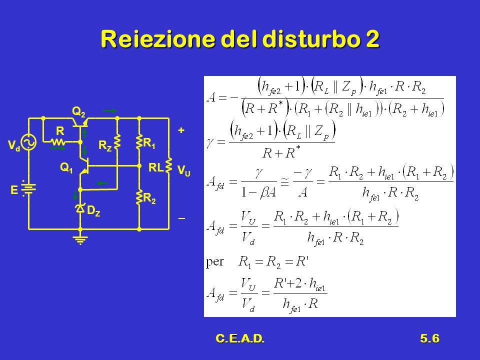C.E.A.D.5.6 Reiezione del disturbo 2