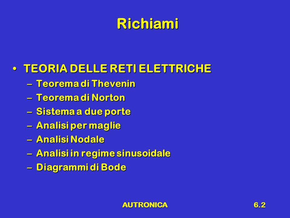 AUTRONICA6.3 Struttura dellatomo Gli elettroni possono occupare solo particolari livelli energetici (quantizzazione)Gli elettroni possono occupare solo particolari livelli energetici (quantizzazione)