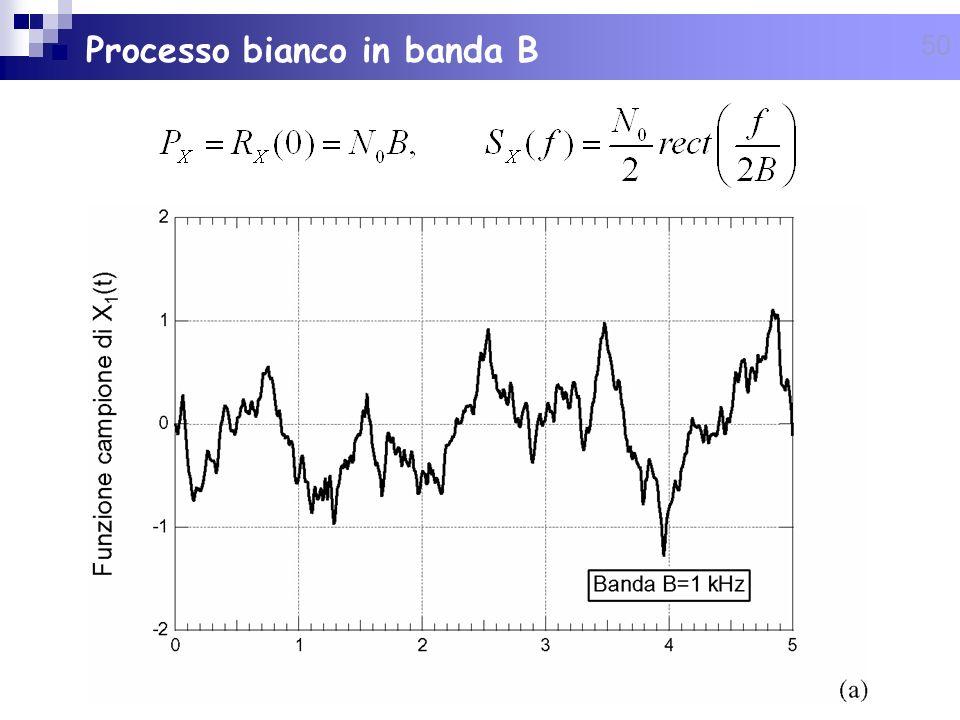50 Processo bianco in banda B