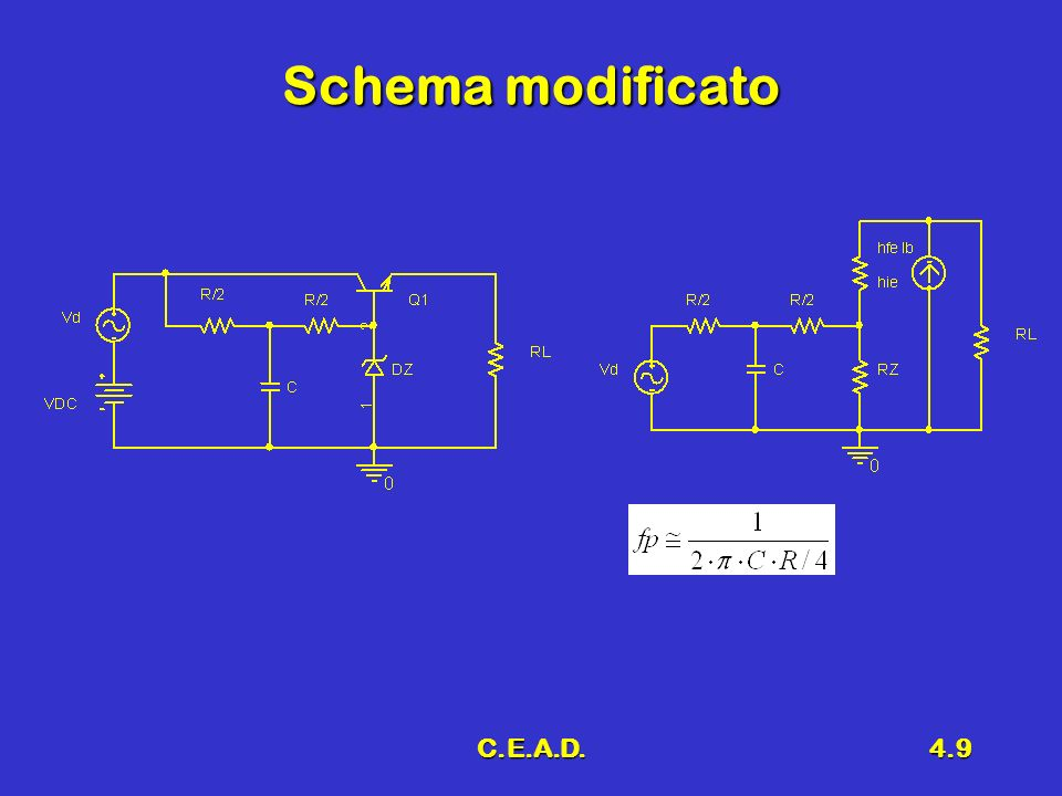 C.E.A.D.4.9 Schema modificato