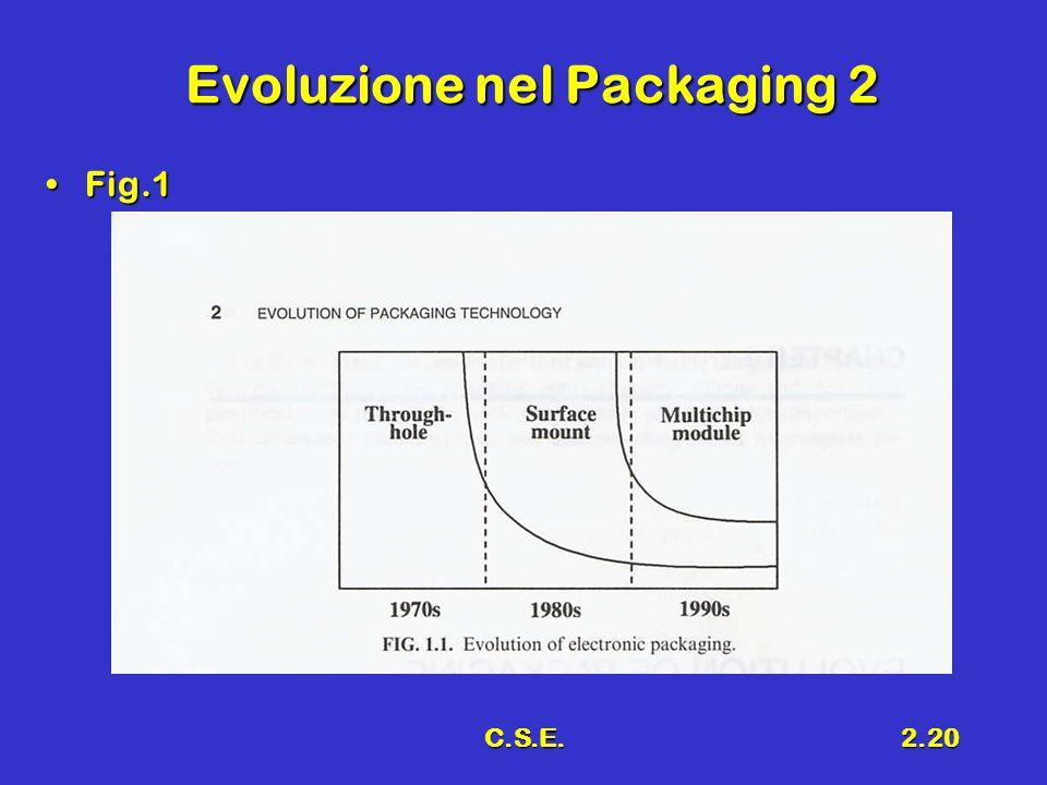 C.S.E.2.20 Evoluzione nel Packaging 2 Fig.1Fig.1