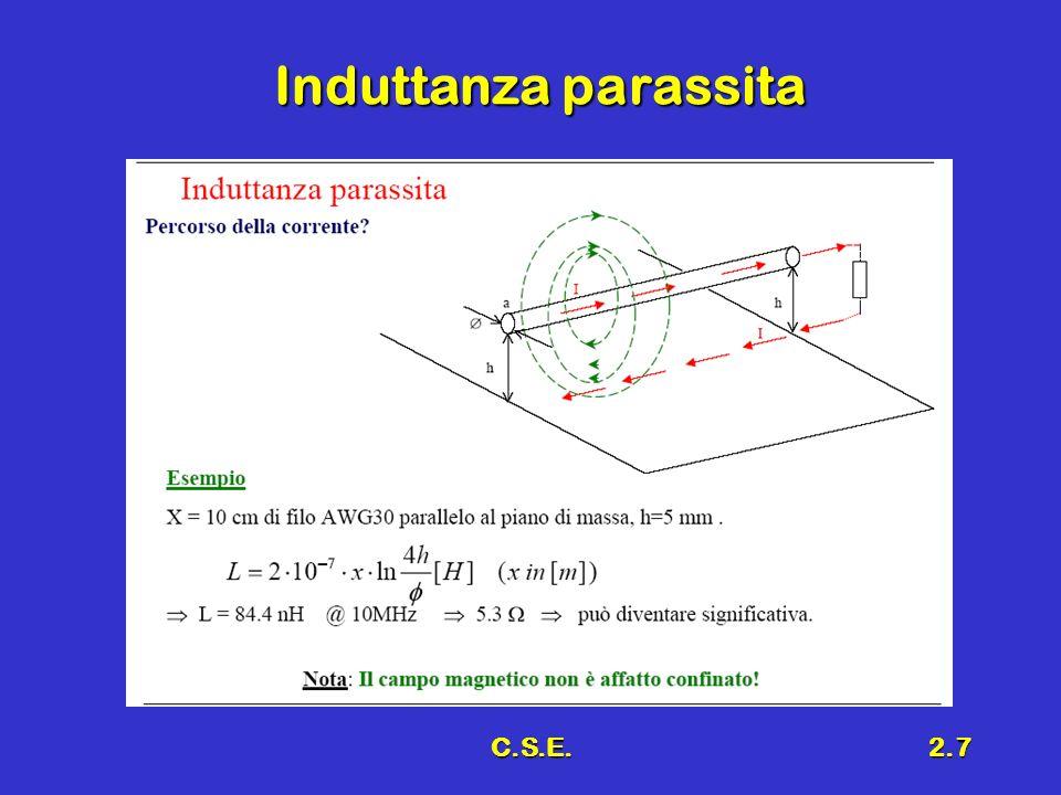 C.S.E.2.7 Induttanza parassita