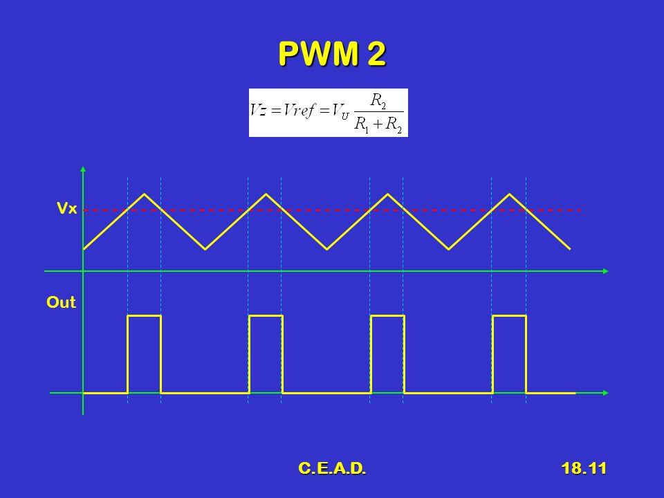 C.E.A.D.18.11 PWM 2 Vx Out