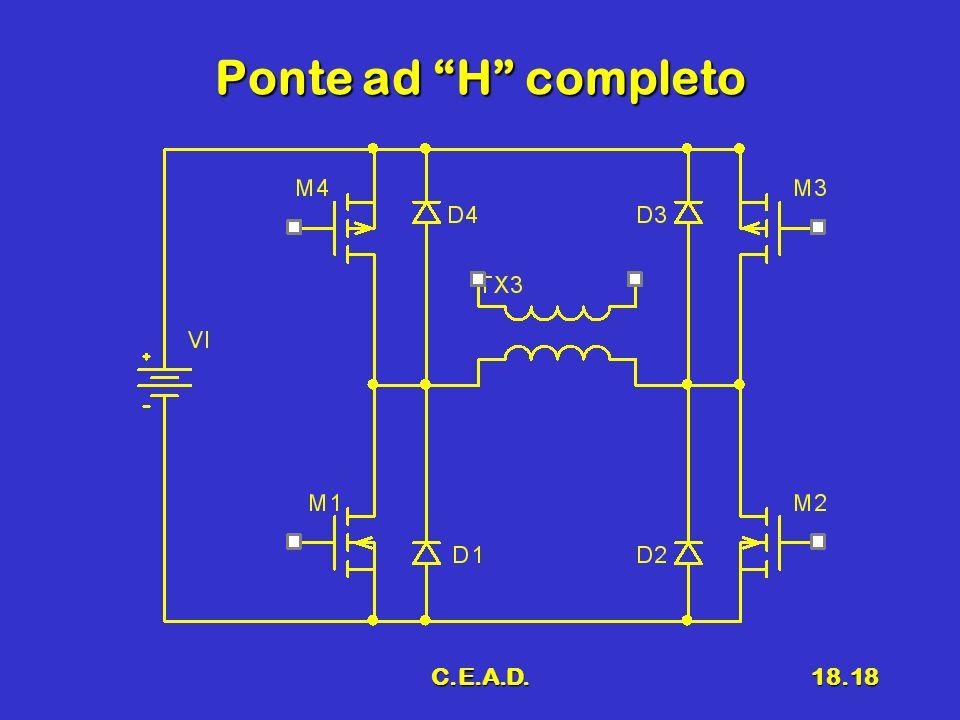 C.E.A.D.18.18 Ponte ad H completo
