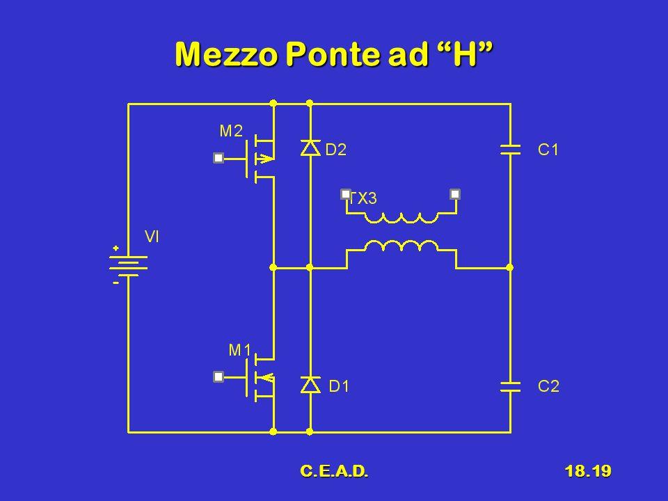 C.E.A.D.18.19 Mezzo Ponte ad H