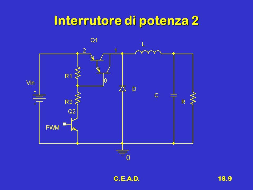 C.E.A.D.18.20 Conclusioni Regolatori serie integratiRegolatori serie integrati Regolatori SwitchingRegolatori Switching