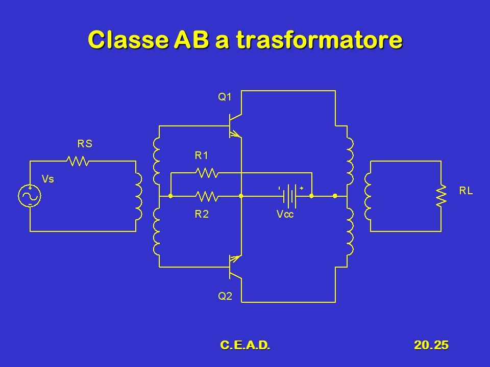 C.E.A.D.20.25 Classe AB a trasformatore