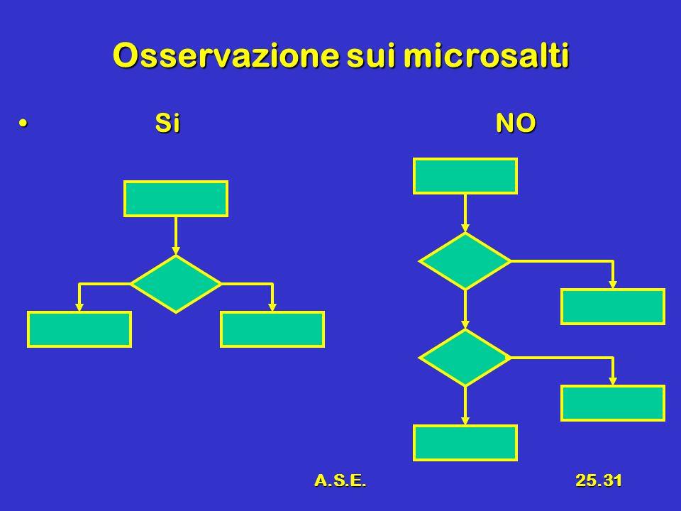 A.S.E.25.31 Osservazione sui microsalti SiNO SiNO