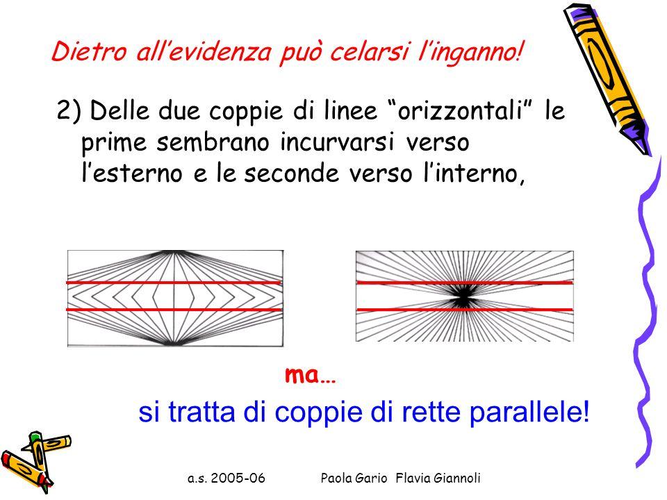 Dietro allevidenza può celarsi linganno! 1) Osserva le immagini che seguono: ….sono uguali! Dei due segmenti compresi tra le due coppie di virgolette,