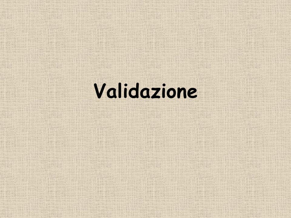 Validazione