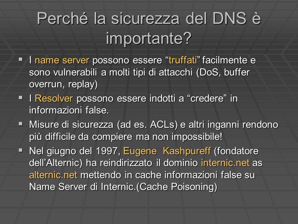 Perché la sicurezza del DNS è importante.