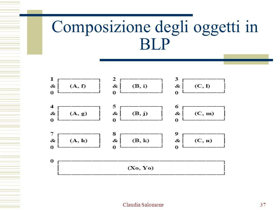 Claudia Salomone37 Composizione degli oggetti in BLP