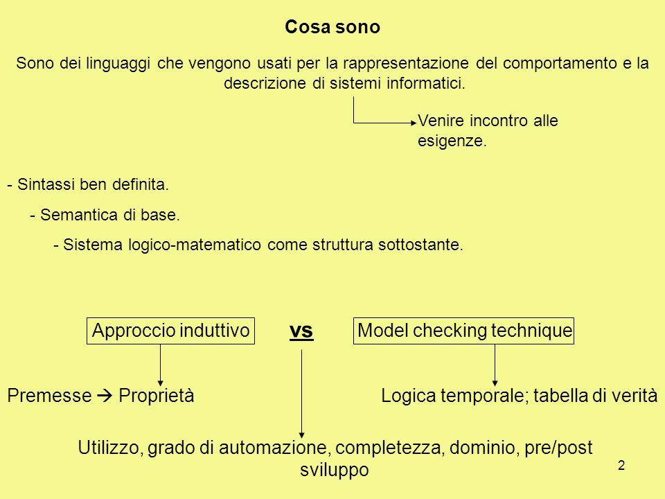 2 Cosa sono Sono dei linguaggi che vengono usati per la rappresentazione del comportamento e la descrizione di sistemi informatici.