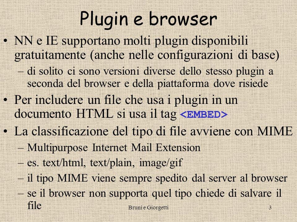 Bruni e Giorgetti4 LiveConnect Come può JS interagire con i plugin.