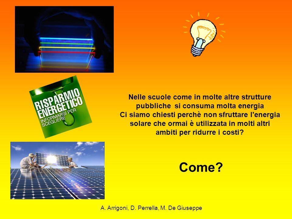 Nelle scuole come in molte altre strutture pubbliche si consuma molta energia Ci siamo chiesti perchè non sfruttare l'energia solare che ormai è utili