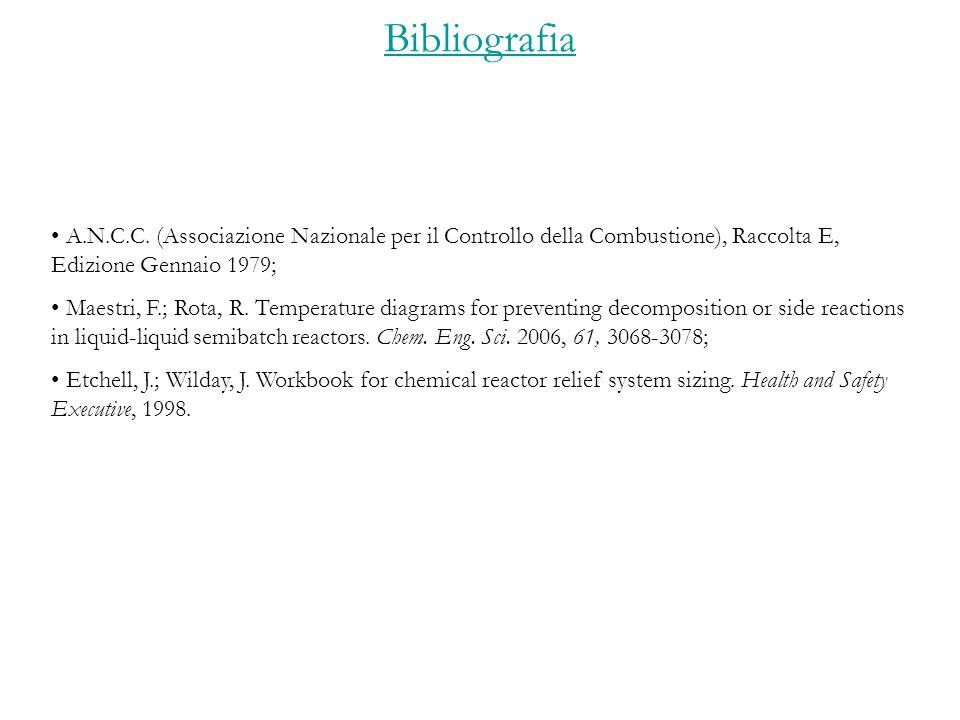Bibliografia A.N.C.C.