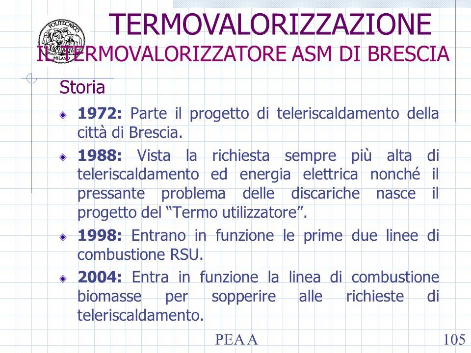 Storia 1972: Parte il progetto di teleriscaldamento della città di Brescia. 1988: Vista la richiesta sempre più alta di teleriscaldamento ed energia e