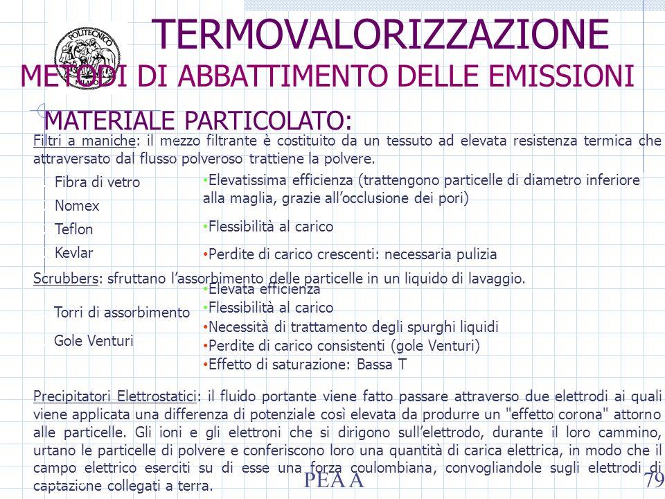 Filtri a maniche: il mezzo filtrante è costituito da un tessuto ad elevata resistenza termica che attraversato dal flusso polveroso trattiene la polvere.