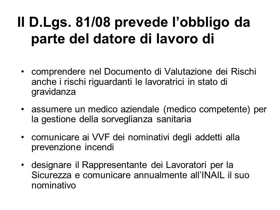 Il Documento di Valutazione dei Rischi deve prevedere lapprovazione del RLS rispetto alle misure indicate la firma del RSU la graduatoria dei rischi individuati una relazione degli infortuni occorsi negli ultimi tre anni