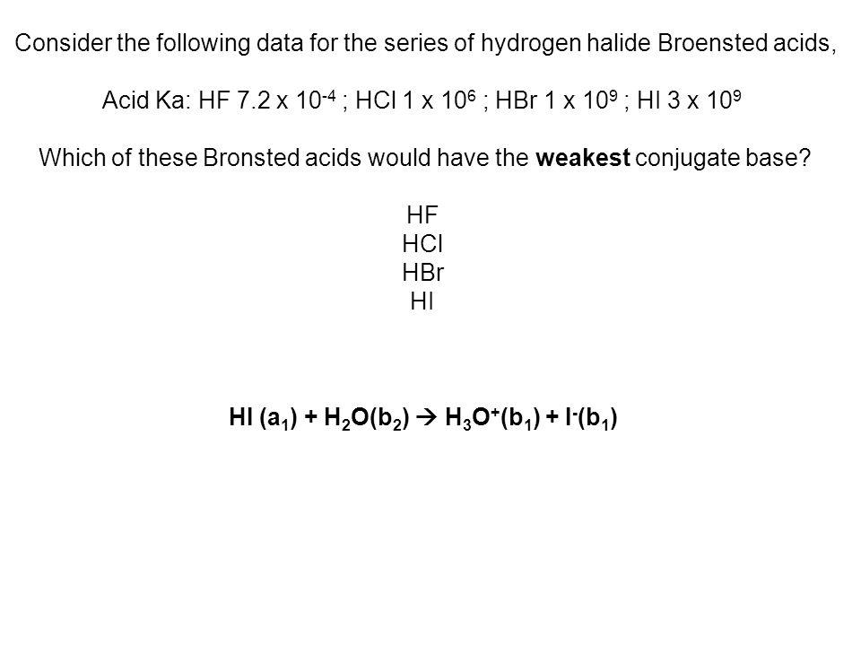 Quale delle seguenti fìgure rappresenta una piccola porzione di un acido debole sciolto in acqua AH + H 2 O = H 3 O + + A - b