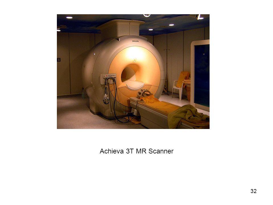 32 Achieva 3T MR Scanner