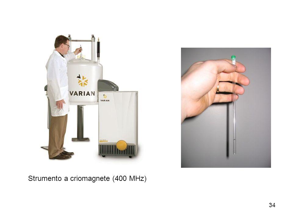 34 Strumento a criomagnete (400 MHz)
