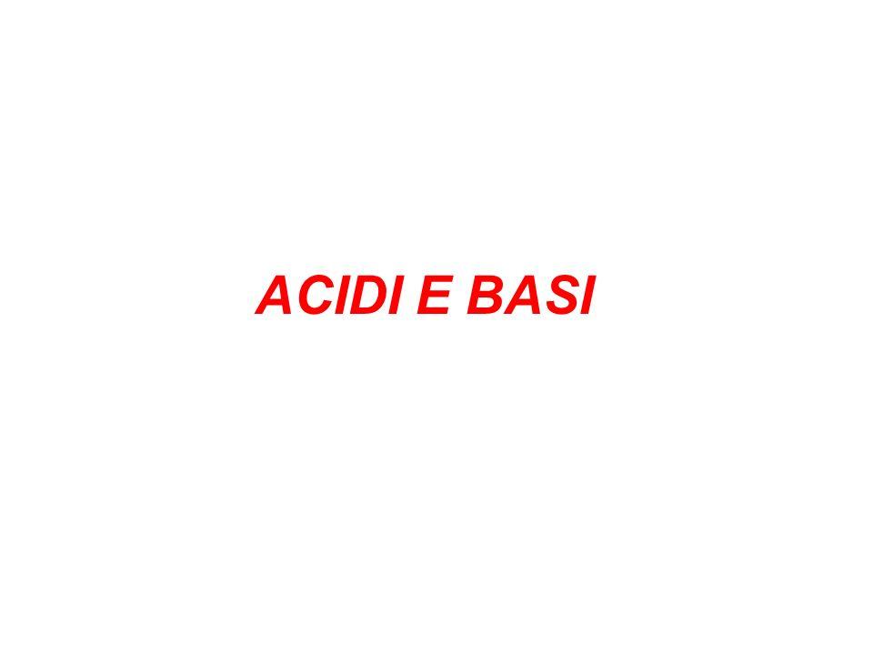 ACIDI E BASI